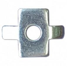 Шайба четырехлепестковая для соед. провол. лотка (в соединении с винтом M6x20), нержавеющая сталь