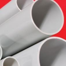 Труба ПВХ жёсткая атмосферостойкая д.16мм, тяжёлая, 3м, цвет серый