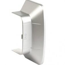 Ввод в стену/потолок 140х50 мм, цвет серый металлик
