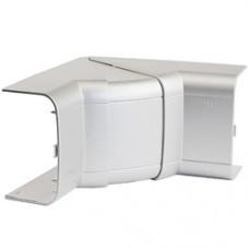 Угол внутренний 90х50мм, изменяемый (70-120°), цвет серый металлик