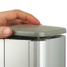 Заглушка цвет серый металлик для колонн 09591, 09581, 09571