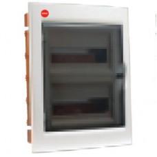 Щиток встраив. с дверцей 24 мод., IP 40, белый