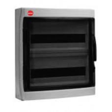Щиток настен. с дверцей 36 мод.,IP65, серый