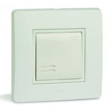 Выключатель, 16А, 250V~, белый, 2 мод.