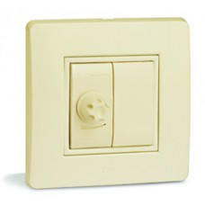 Диммер, 35-500Вт для галогенных ламп и ламп накаливания, 16А, 250V~,  белый, 1 мод.