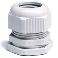 Зажим кабельный с контргайкой, IP68, PG16, д.9-14мм