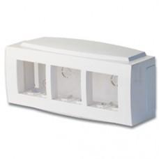 """Модульная коробка для электроустановочных изделий """"Brava"""", 6 модулей"""