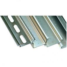 DIN-рейка металлическая, G1F (с перфорацией) 32x15x1,5, длина 2 м