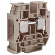 CBC.35GR, проходной зажим серый, 1000V, 150A 35 мм