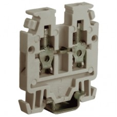 RN.2/GR, проходной мини-зажим серый, 400V, 24A 2,5 мм