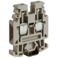 RP.4GR, проходной мини-зажим серый, 630V, 32A 4 мм