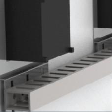 Дверной держатель перфорированного короба, 72x72 (упаковка 10 шт.)