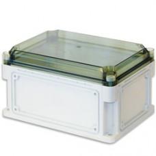 Корпус IP67, 300х200х160 (выс. крышки 35), прозрачная крышка
