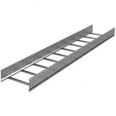 Лоток лестничный 150х1000, лонжерон 1,5 мм, L 6 м