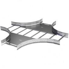 X-ответвитель лестничный 80х400, R660, горячий цинк