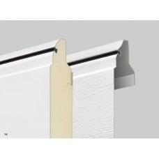 Секционные ворота LPU40 – Стальные секции, двустенные